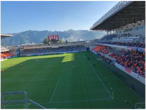 AC長野パルセイロ スタジアム
